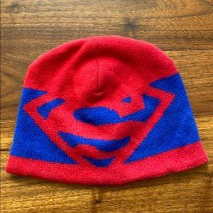 Baby GAP + Junk Food Superman Knit Hat Size Medium